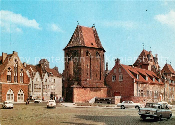 AK / Ansichtskarte Gdansk Baszta Narozna Gdansk