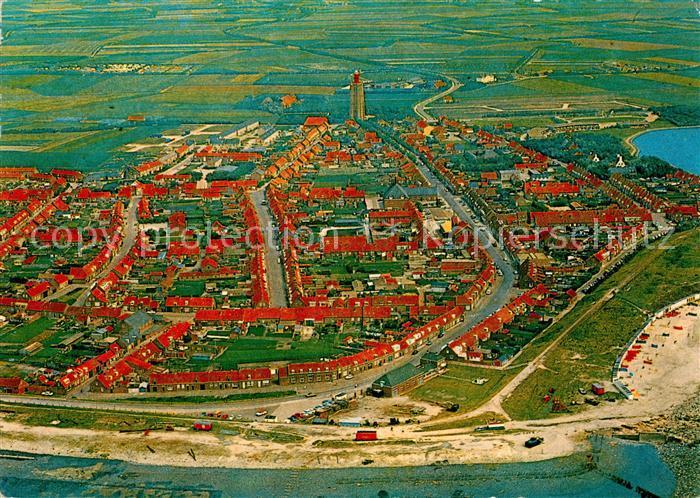 AK / Ansichtskarte Westkapelle_Netherlands Luchtopname Westkapelle_Netherlands