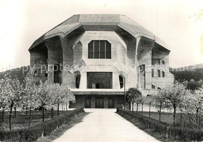 AK / Ansichtskarte Dornach_SO Goetheanum Dornach_SO