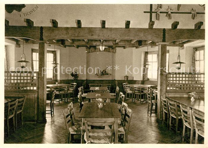 AK / Ansichtskarte Monte_Generoso Locanda Ticinese Restaurant Monte Generoso