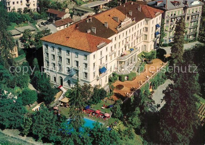 AK / Ansichtskarte Locarno_TI Piscine temperee Locarno_TI