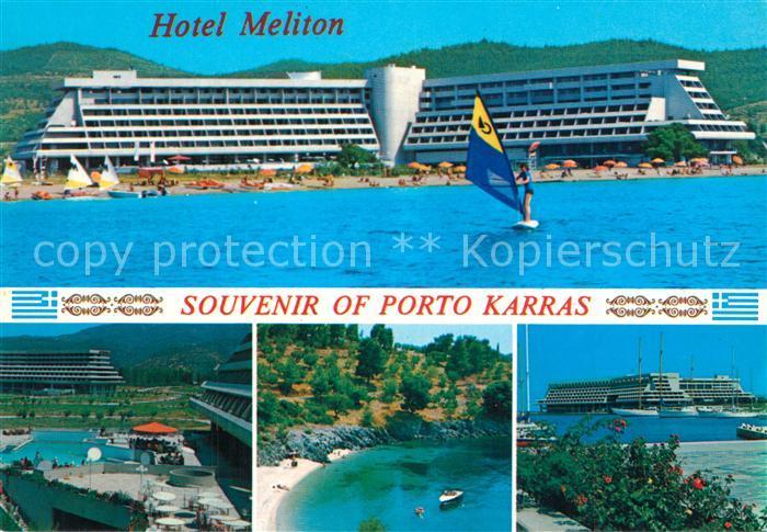 AK / Ansichtskarte Halkidiki Hotel Meliton Details Halkidiki