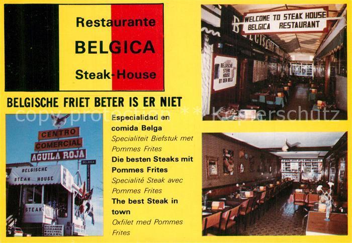 AK / Ansichtskarte Playa_del_Ingles Restaurante Belgica Steak House Bar Playa_del_Ingles