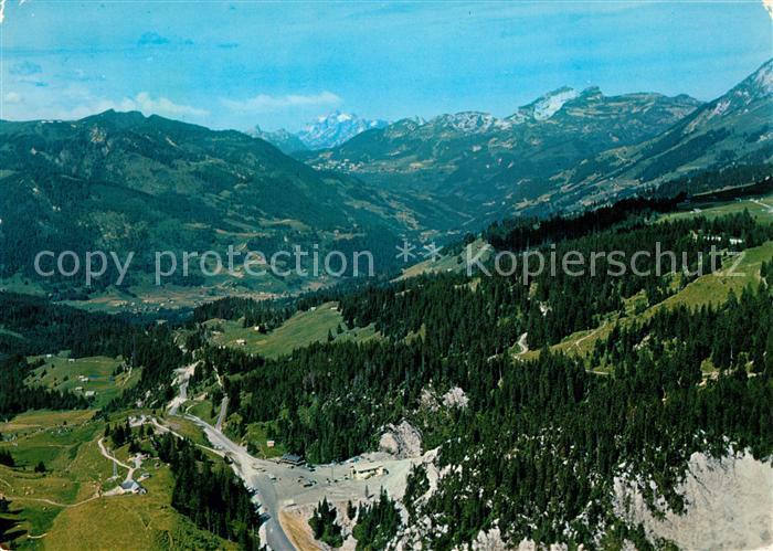 AK / Ansichtskarte Col_du_Pillon Vallee des Ormonts Tours d'Ai et Mayen Col_du_Pillon