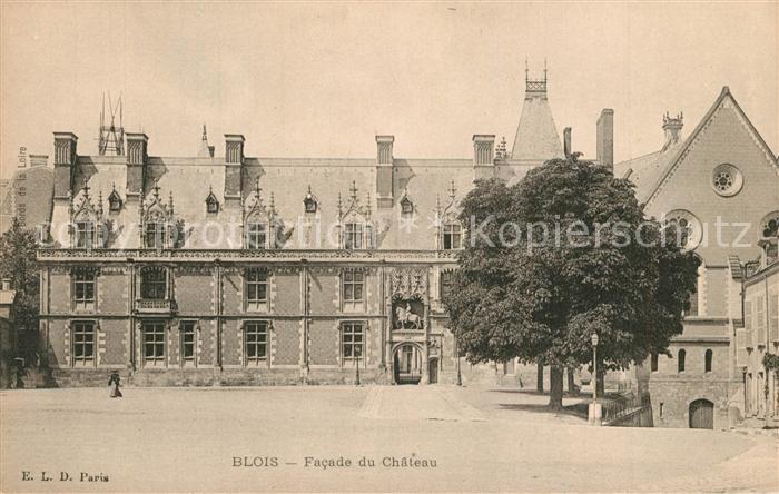 AK / Ansichtskarte Blois_Loir_et_Cher Chateau Blois_Loir_et_Cher