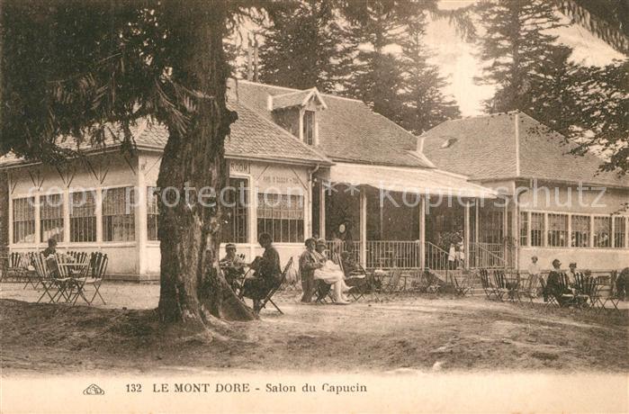 AK / Ansichtskarte Le_Mont Dore Salon du Capucin Le_Mont Dore