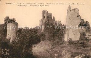 AK / Ansichtskarte Lavardin_Loir et Cher Chateau  Lavardin Loir et Cher