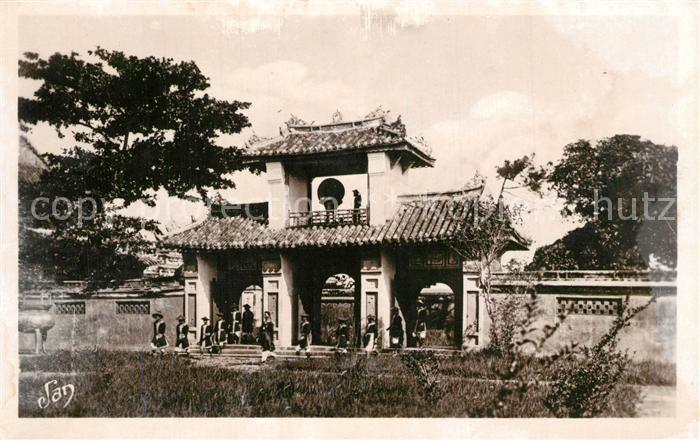 AK / Ansichtskarte Annam Hue Palais des Empereurs d Annam