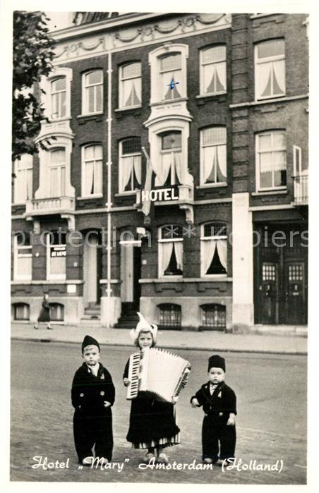AK / Ansichtskarte Amsterdam_Niederlande Hotel Mary Amsterdam_Niederlande