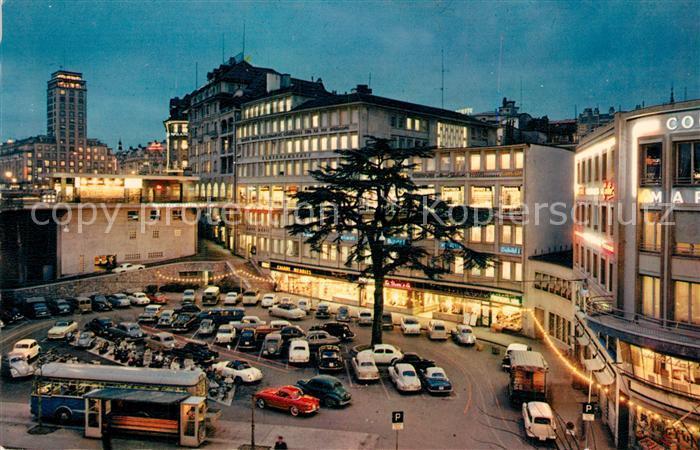 AK / Ansichtskarte Lausanne_VD Stadtpanorama  Lausanne VD