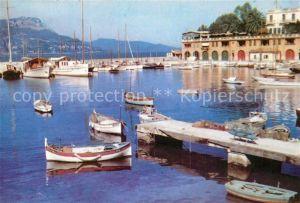 AK / Ansichtskarte Saint Jean Cap Ferrat Hafen Saint Jean Cap Ferrat