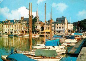 AK / Ansichtskarte Honfleur Bassin Quai Saint Etienne Honfleur