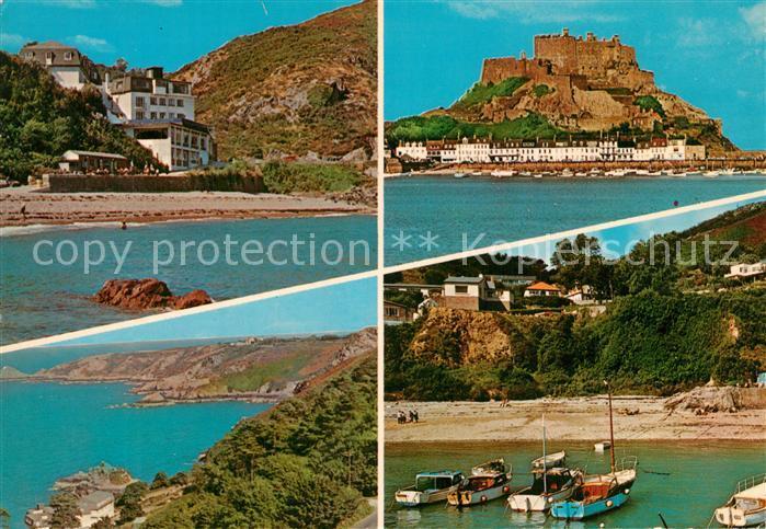 AK / Ansichtskarte Jersey_Island Bouley Bay Kuestenpanorama Jersey_Island
