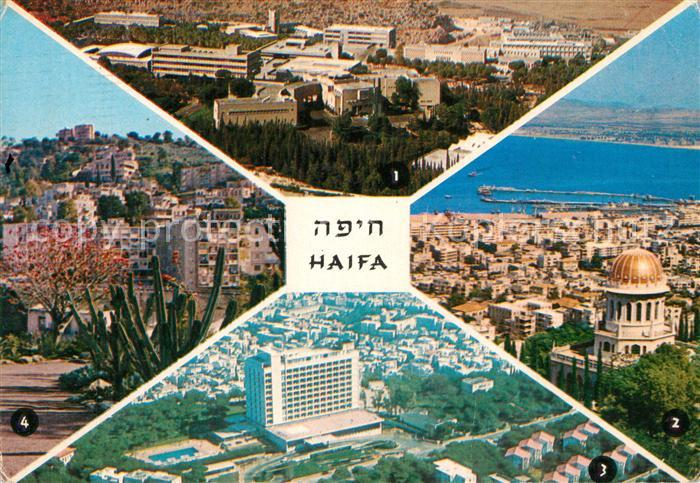AK / Ansichtskarte Haifa Technion Partial view Mount Carmel Hadar Hacarmel Haifa