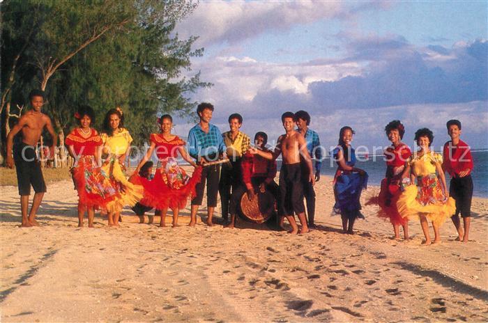 AK / Ansichtskarte Saint Denis_Reunion Mascareignas Troupes folkloriques Saint Denis Reunion