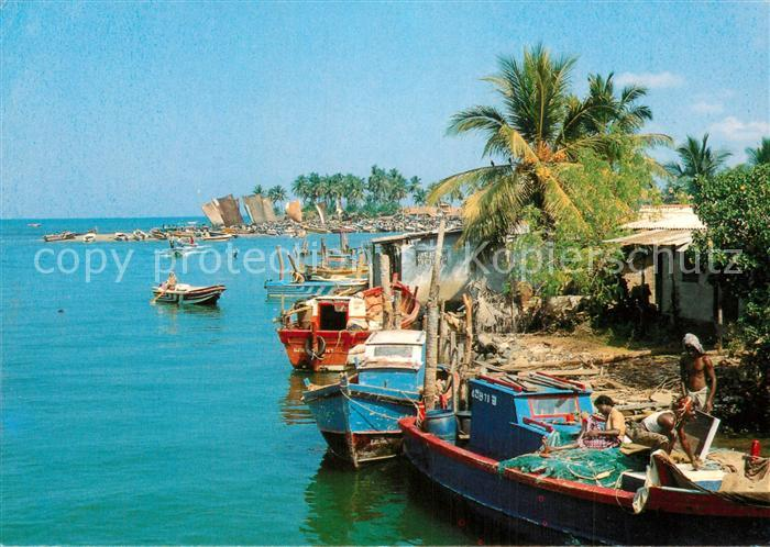 AK / Ansichtskarte Sri_Lanka Negombo Lagoon Sri_Lanka