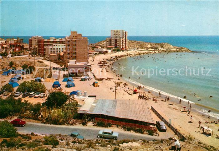AK / Ansichtskarte Cullera_Valenciana Panorama playa Cullera_Valenciana