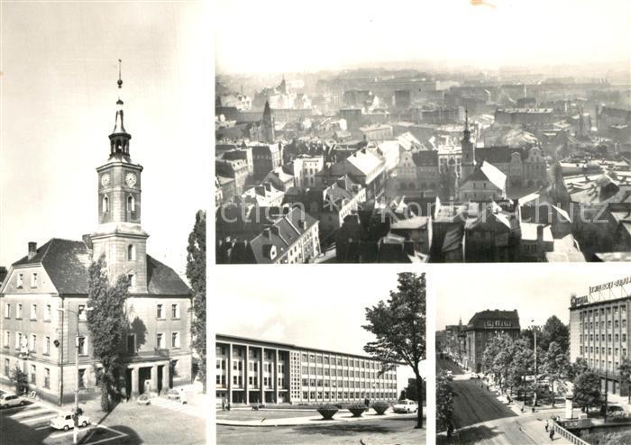 AK / Ansichtskarte Gliwice_Gleiwitz Ratusz Widok ogolny  Gliwice_Gleiwitz