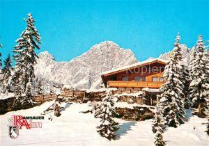 AK / Ansichtskarte Ramsau_Dachstein_Steiermark Alpen Restaurant Ramsauer Alm Ramsau_Dachstein
