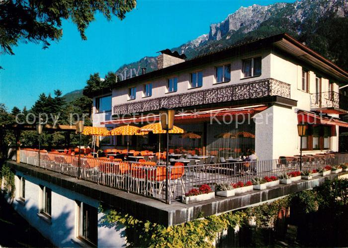 AK / Ansichtskarte Schaan_Liechtenstein Hotel Dux  Schaan_Liechtenstein