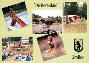 AK / Ansichtskarte Grolloo Het landgoed De Berenkuil Pool Theater Camping Grolloo