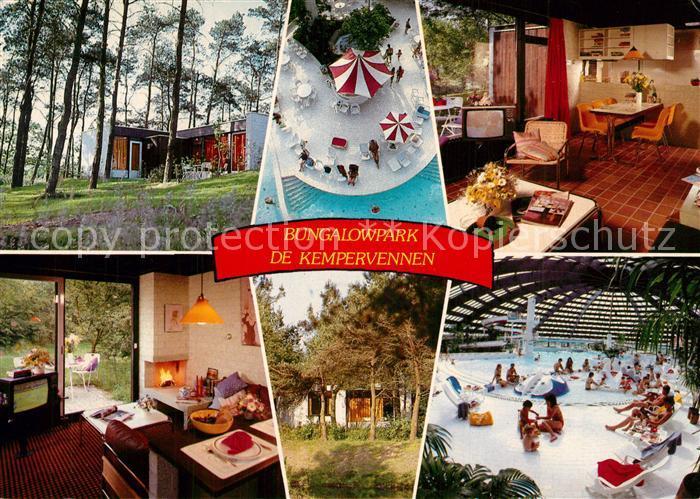 AK / Ansichtskarte Westerhoven De Kempervennen Bungalowpark Sporthuis Centrum Westerhoven