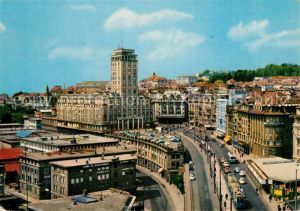 AK / Ansichtskarte Lausanne_VD La Tour Bel Air et Grand Pont Lausanne VD