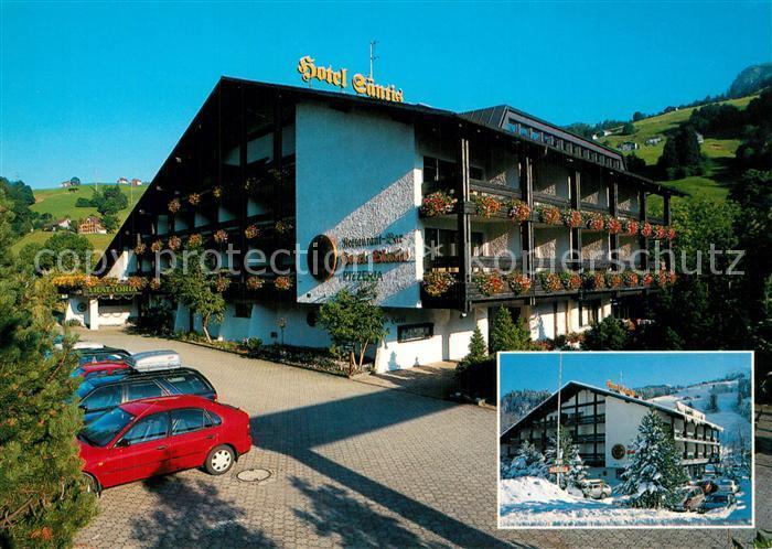 AK / Ansichtskarte Unterwasser_Toggenburg Hotel Saentis Unterwasser Toggenburg