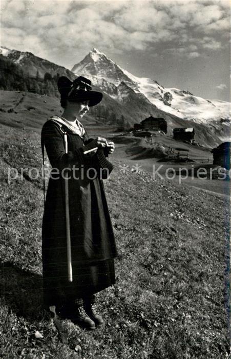 AK / Ansichtskarte Herens_Val_de Forcla Tracht Herens_Val_de