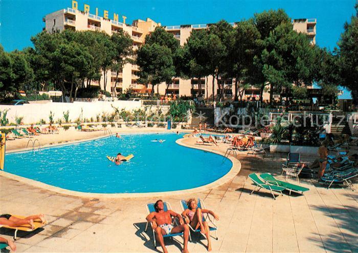 AK / Ansichtskarte El_Arenal_Mallorca Hotel Orient Swimming Pool El_Arenal_Mallorca