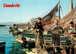 AK / Ansichtskarte Cambrils El puerto Hafen Fischerboote Cambrils
