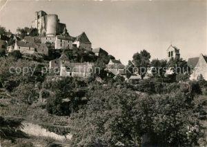 AK / Ansichtskarte Castelnaud la Chapelle Vue generale et ruines du Chateau Castelnaud la Chapelle