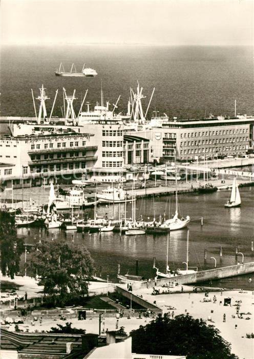 AK / Ansichtskarte Gdynia_Pommern Jachthafen Gdynia Pommern