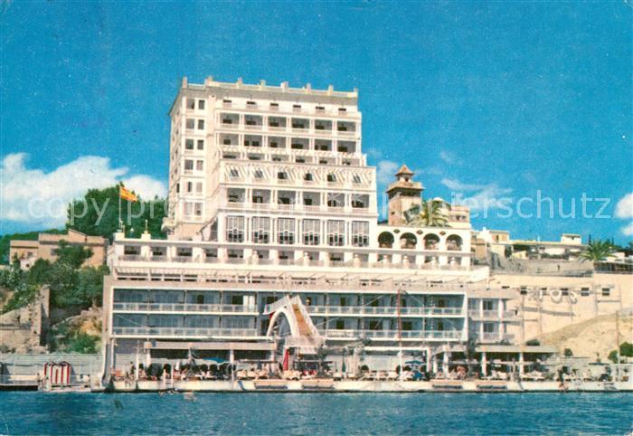 AK / Ansichtskarte Palma_de_Mallorca Hotel Mediterraneo Palma_de_Mallorca