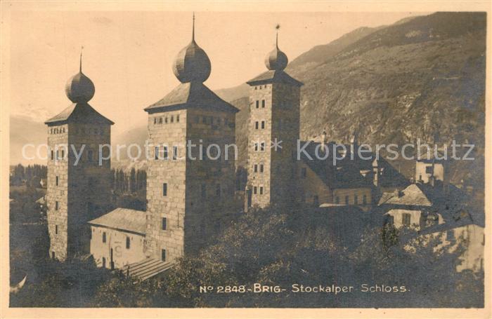 Brig_VS Stockalper Schloss Brig_VS