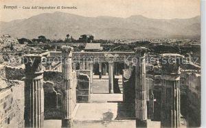 Pompei Casa dell  Imperatore di Germania Ruinen Antike Staette Pompei