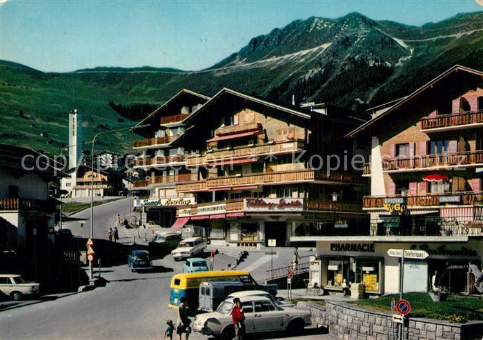 Verbier Place du village Alpes Francaises Verbier