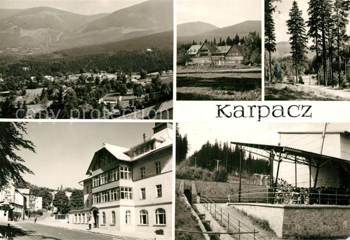 Karpacz Panorama Berghotel Ferienhaus Sesselliftstation Karpacz
