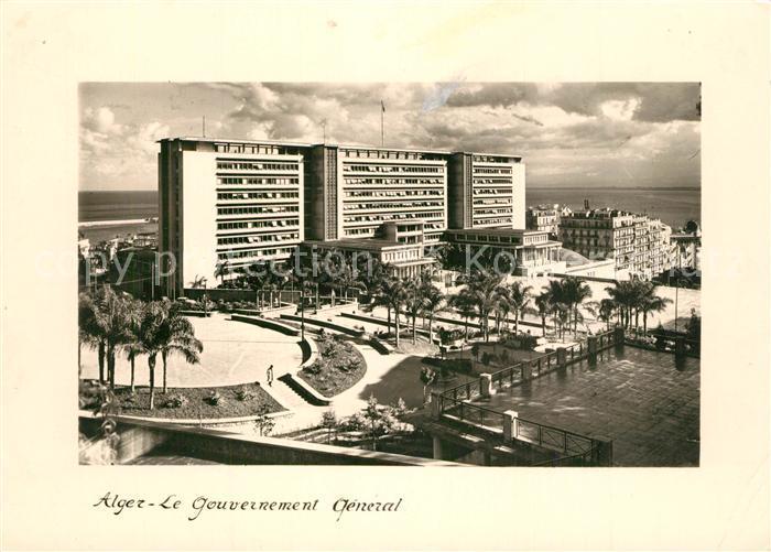 Alger_Algerien Gouvernement General Alger Algerien