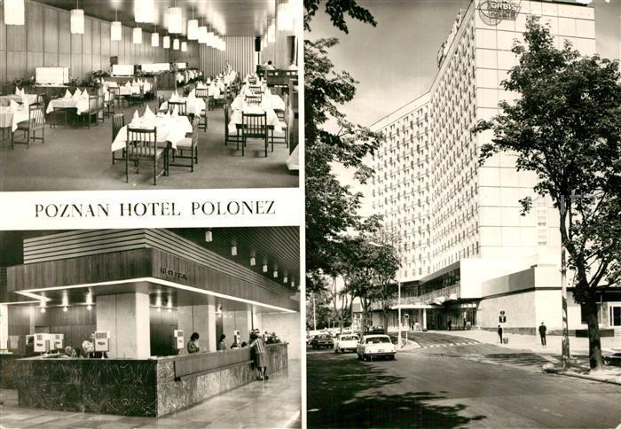 Poznan_Posen Hotel Polonez Restaurant Rezeption Poznan Posen