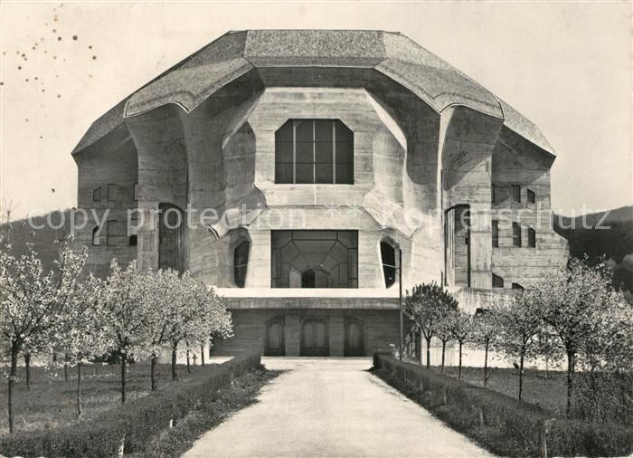 Dornach_SO Goetheanum Hochschule fuer Geisteswissenschaft Architektur Dornach_SO