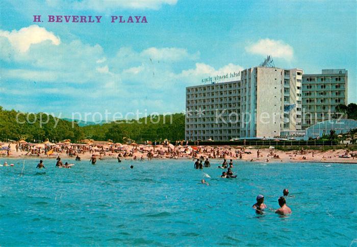 Paguera_Mallorca_Islas_Baleares Hotel Beverly Playa Strand Paguera_Mallorca