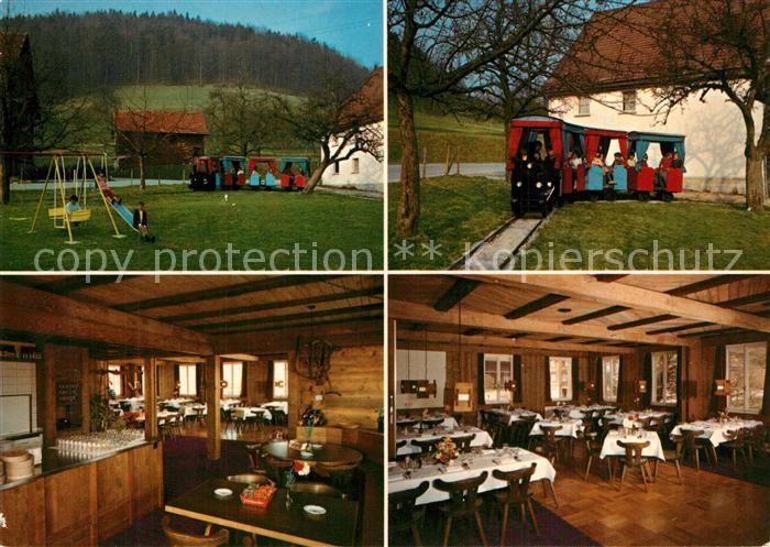 Tufertschwil_Luetisburg Gasthaus Roessli mit Kinderspielplatz Tufertschwil Luetisburg