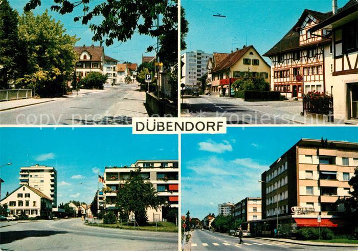 Duebendorf Ortsansichten Duebendorf