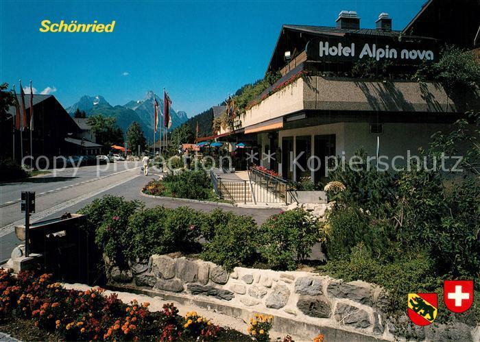 Schoenried Hotel Alpina nova Schoenried