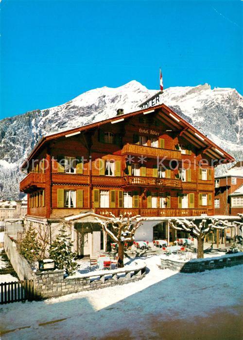 Kandersteg_BE Hotel Adler Kandersteg_BE