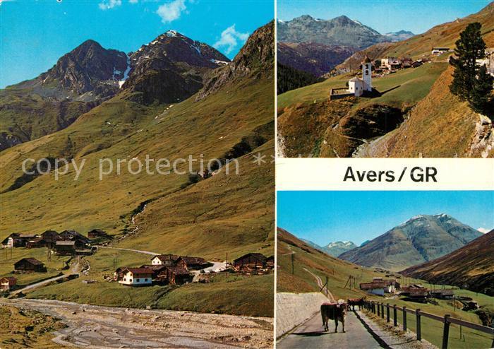 Juf_Avers mit Avers Cresta und Puert  Juf_Avers