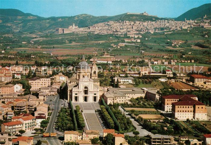 Assisi_Umbria Santa Maria degli Angeli Fliegeraufnahme Assisi Umbria