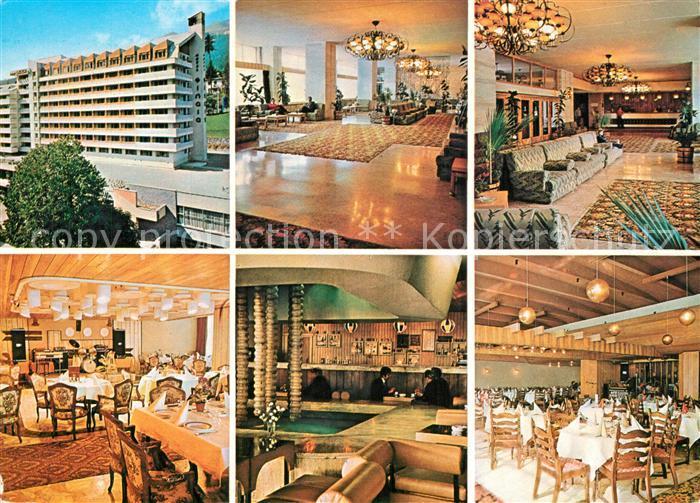 Sinaia Hotel Restaurant Sinaia Foyer Gastraeume Speisesaal Sinaia