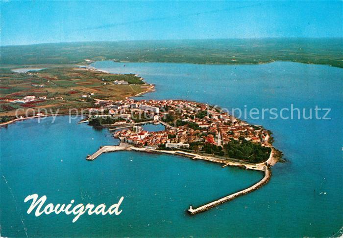 AK / Ansichtskarte Novigrad Plava Laguna Fliegeraufnahme Novigrad